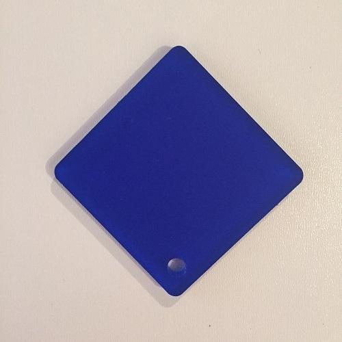 Plexiglas bleu ( PMMA coulé transparent bleu)