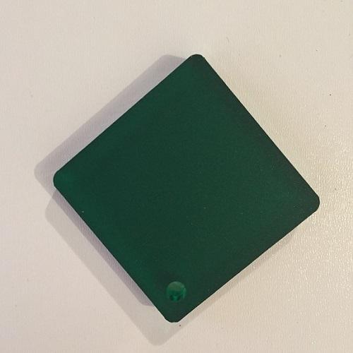 Plexiglas vert ( PMMA coulé transparent)